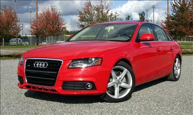 2009_Audi_A4_redcolour