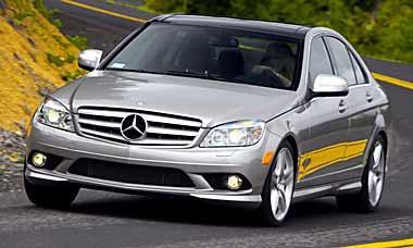 Mercedes Benz c class 2009